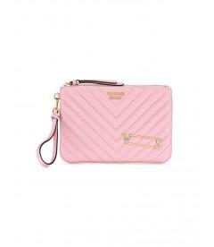 Стильный клатч Embellished V-Quilt от Victoria's Secret - Pink