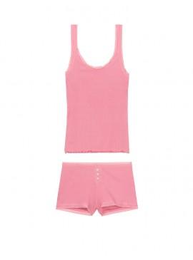 Фото Пижамка из коллекции Ribbed Set от Victoria's Secret - Rose Luster