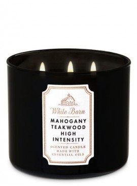 Фото Свеча Mahogany Teakwood High Intensity от Bath and Body Works