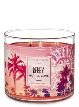 Фото Свеча Berry Waffle Cone от Bath and Body Works