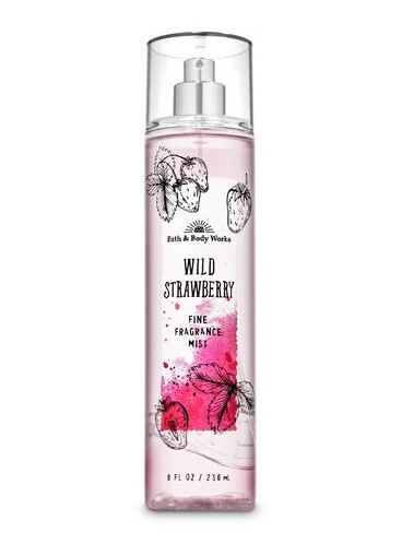 Спрей для тела Bath and Body Works - Wild Strawberry