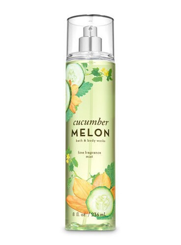 Спрей для тела Bath and Body Works - Cucumber Melon