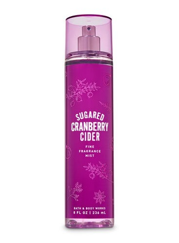 Спрей для тела Bath and Body Works - Sugared Cranberry Cider