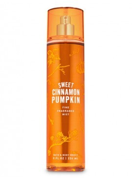 Фото Спрей для тела Bath and Body Works - Sweet Cinnamon Pumpkin
