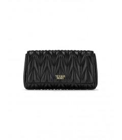 Стильный клатч Chevron Quilt Uptownl от Victoria's Secret - Black