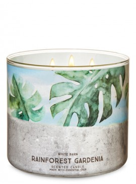 Фото Свеча Rainforest Gardenia от Bath and Body Works