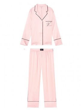 Фото Сатиновая пижама от Victoria's Secret - Pink Stripe