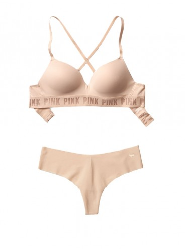 Комплект бeлья от Victoria's Secret PINK - Buff