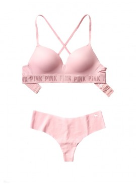 More about Комплект бeлья от Victoria's Secret PINK - Chalk Rose