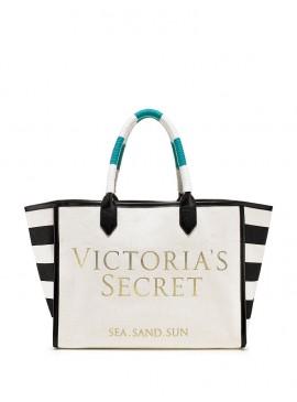 Фото Стильная сумка Striped Canvas от Victoria's Secret