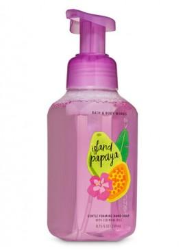 Фото Пенящееся мыло для рук Bath and Body Works - Island Papaya