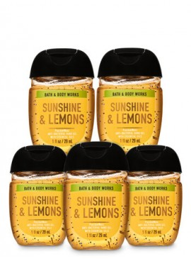Фото Санитайзер Bath and Body Works - Sunshine & Lemons