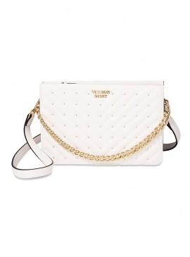 Фото Стильная сумка Studded V-Quilt 24/7 от Victoria's Secret - White Gold