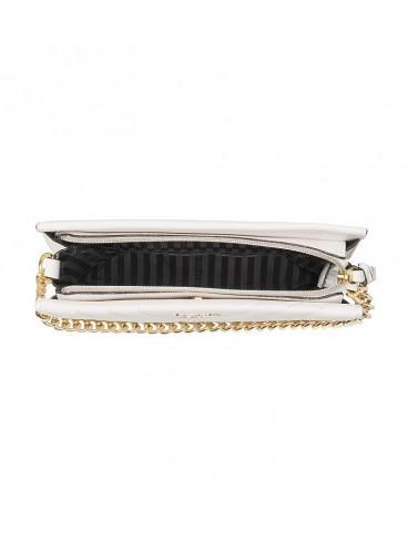 Стильная сумка Studded V-Quilt 24/7 от Victoria's Secret - White Gold