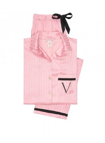 Сатиновая пижама от Victoria's Secret - Dusk Pink Graphic