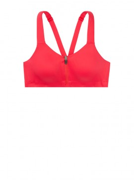 Фото Спортивный топ из коллекции Maximum Support Front-Close от Victoria's Secret - Bright Cherry