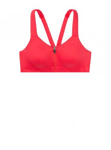 Спортивный топ из коллекции Maximum Support Front-Close от Victoria's Secret - Bright Cherry