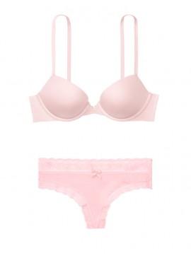 Фото Комплект белья с Push-up из коллекции SEXY ILLUSIONS от Victoria's Secret - Dollhouse Pink