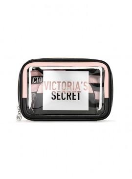 Фото Набор из 3-х косметичек Signature Mix Backstage от Victoria's Secret