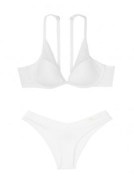Фото Комплект бeлья Lightly Lined Lace Plunge от Victoria's Secret - White