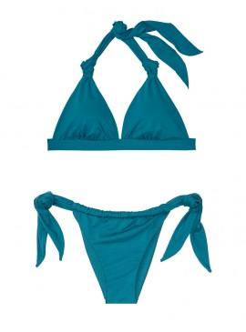 Фото Стильный купальник Knotted Triangle от Victoria's Secret - Peacock