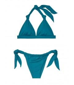 NEW! Стильный купальник Knotted Triangle от Victoria's Secret - Peacock