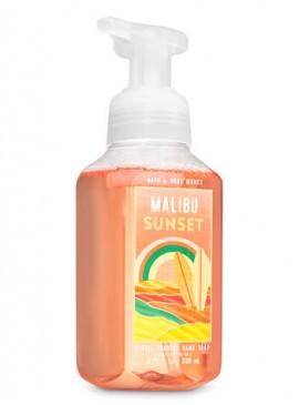Фото Пенящееся мыло для рук Bath and Body Works - Malibu Sunset