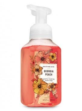 Фото Пенящееся мыло для рук Bath and Body Works - Georgia Peach