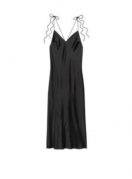 Фото Платье-комбинация из коллекции Satin Slip Dress от Victoria's Secret - Black