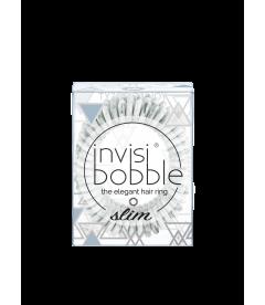 Резинка-браслет для волос invisibobble SLIM - Marblelous You're Greyt