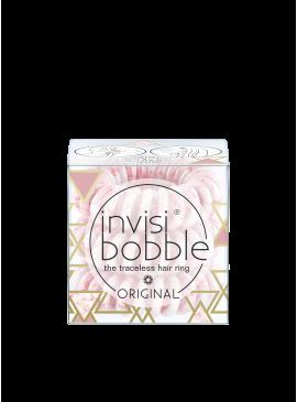 Фото Резинка-браслет для волос invisibobble ORIGINAL - Marblelous Pinkerbell