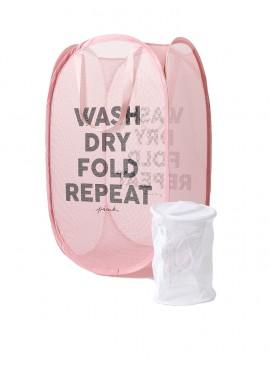 Фото Корзина для белья + мешочек для стирки от Victoria's Secret