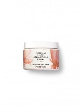 Фото Отшелушивающий скраб для тела из серии Natural Beauty от Victoria's Secret - Coconut Milk & Rose