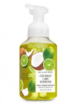 Фото Пенящееся мыло для рук Bath and Body Works - Сoconut Lime Verbena