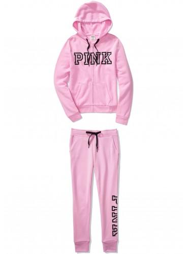 Флисовый костюм от Victoria's Secret PINK - Pink Violet