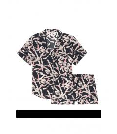 Пижамка с шортиками Victoria's Secret из сериии Cotton Short - Black