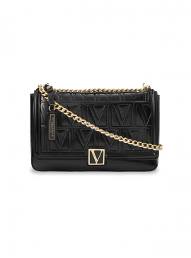 Фото Стильная сумка Victoria Medium Shoulder Bag от Victoria's Secret - Black Lily