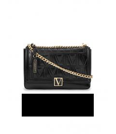 Стильная сумка Victoria Medium Shoulder Bag от Victoria's Secret - Black Lily