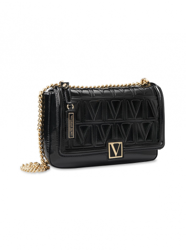 Стильная сумка Victoria Medium Shoulder Bag от Victoria's Secret - Black Lily