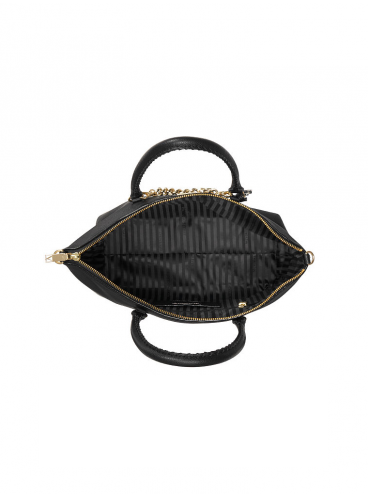 Стильная сумка The Victoria Slouchy Satchel от Victoria's Secret - Black