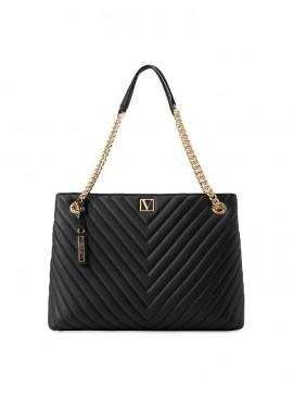 Фото Стильная сумка The Victoria Shoulder от Victoria's Secret - Black Lily