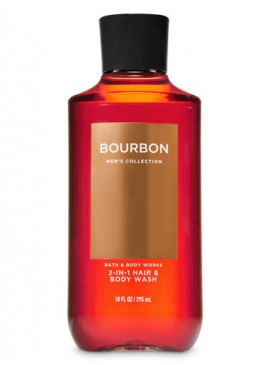 Фото 3в1 Мужское средство для мытья волос, лица и тела Bourbon от Bath and Body Works