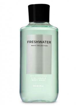 Фото 3в1 Мужское средство для мытья волос, лица и тела Freshwater от Bath and Body Works