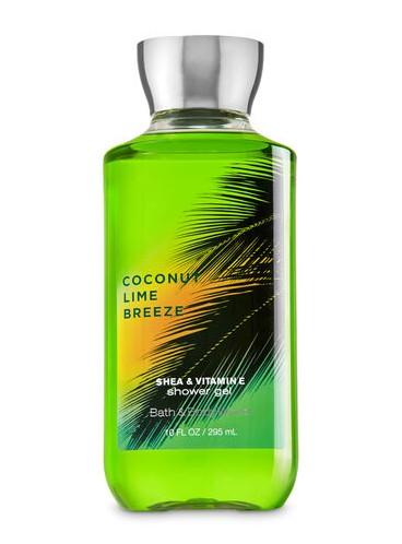 Гель для душа Coconut Lime Breeze от Bath and Body Works