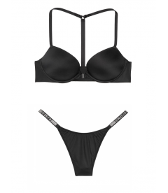 Комплект с Push-Up T-back из серии Very Sexy от Victoria's Secret - Black