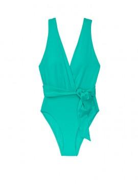 Фото NEW! Стильный монокини V-neck Wrap Tie от Victoria's Secret - Jade