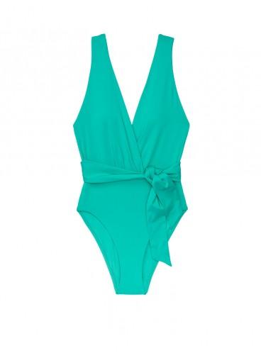 NEW! Стильный монокини V-neck Wrap Tie от Victoria's Secret - Jade
