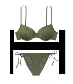 NEW! Стильный купальник Underwire Booster от Victoria's Secret - Moss