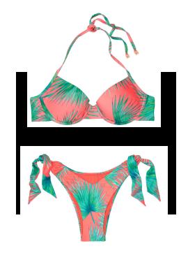 Фото NEW! Стильный купальник Halter от Victoria's Secret - Tropicana