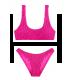 Купальник Smocked Cropped от Victoria's Secret - Flamingo